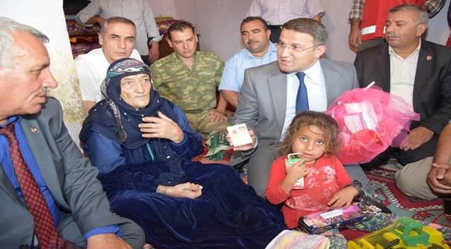 Viranşehir'in en yaşlı ninesi-Videolu Haber