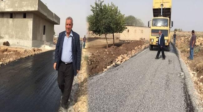 Yağdarlı Kırsal Mahallesi Asfalt Yola Kavuşuyor