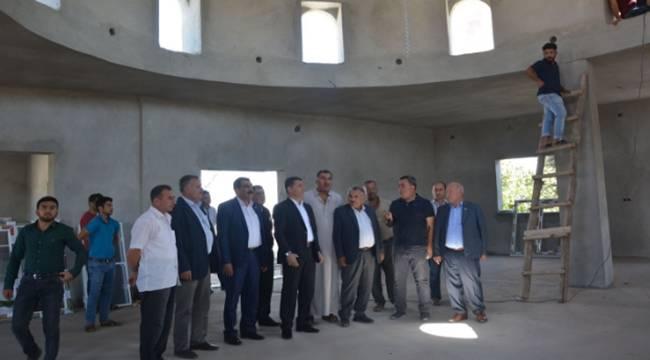 Yukarı Taşyalak'taki Camili Kültür Evi Tamamlanıyor-Videolu Haber