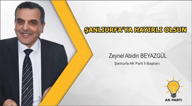 Zeynel Abidin Beyazgül'ün başkanlık onayı imzalandı
