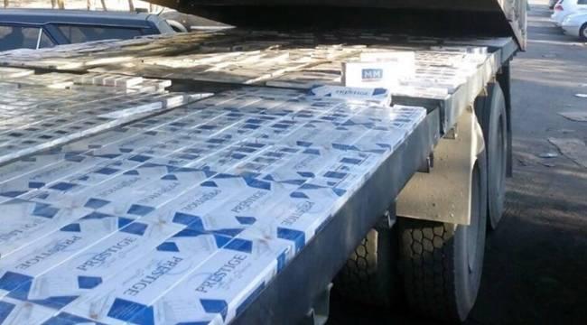 16 bin kaçak sigara yakalandı