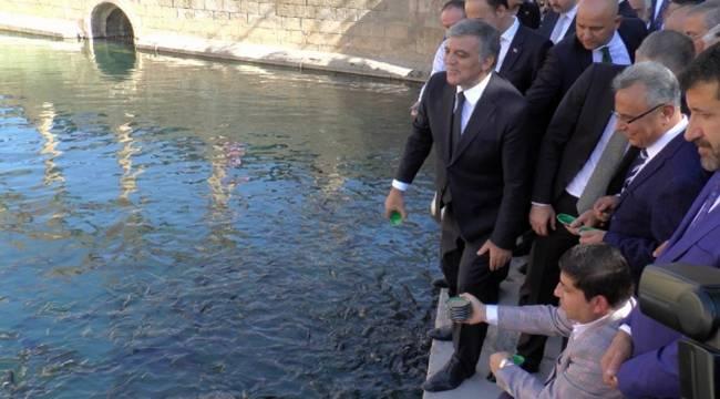 Abdullah Gül, Balıklıgöl'ü Ziyaret Etti