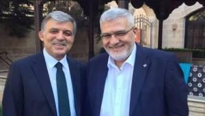 Abdullah Gül, Saadet Partisi İl Başkanını ile Görüştü