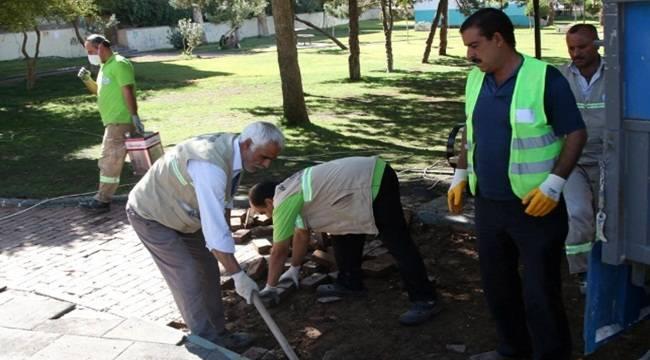 Ahmet Yesevi Parkında Yenileniyor-Videolu Haber