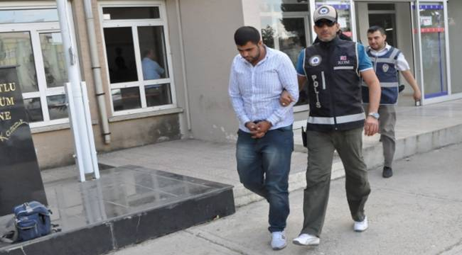 Antep-Urfa Otoyolu gişelerinde 7 kilo esrar yakalandı