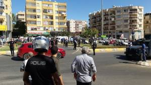 Uçaksavar kavşağında silahlı kavga 1 ölü 3 yaralı-Videolu Haber