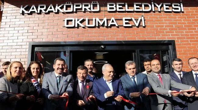 Bakan Fakıbaba Esentepe okuma salonunu açtı-Videolu Haber