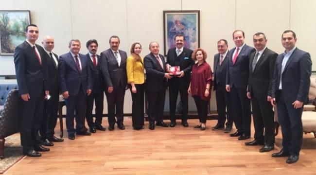 Başkan Kaya, Moldova'yı ziyaret etti
