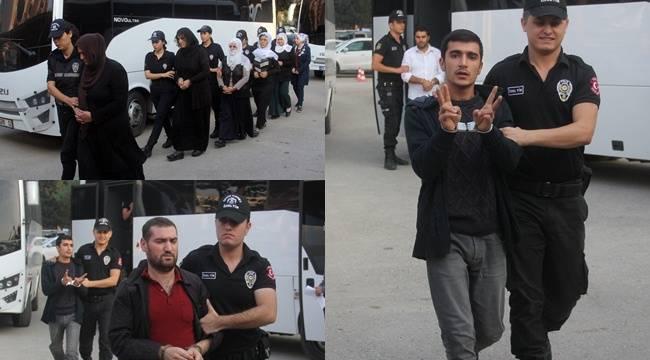 Bombalı eylem keşfi yapan PKK'lılar tutuklandı
