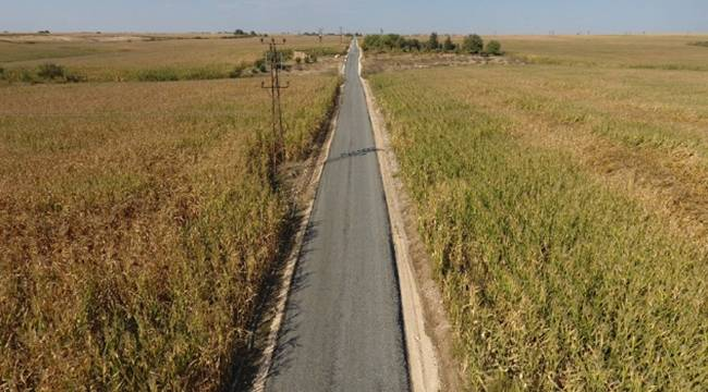 Bu Köy 19 yıl sonra asfaltlanıyor-Videolu Haber