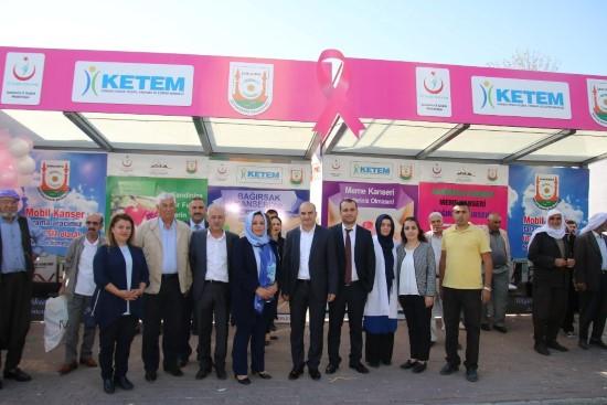 Büyükşehir'den kanserden korunma ve erken teşhis standı