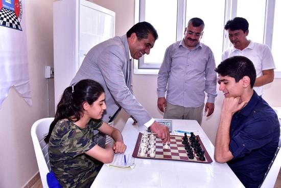 Ceylanpınar'da satranca ilgi artıyor