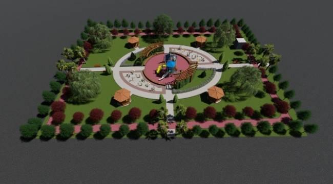 Ceylanpınar'da Turgut Özal Parkı Yapılıyor-Videolu Haber