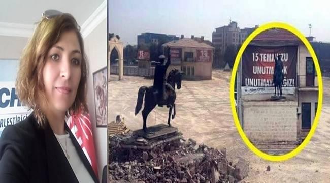 CHP'den Urfa'daki Atatürk Anıtı ile ilgili Açıklama