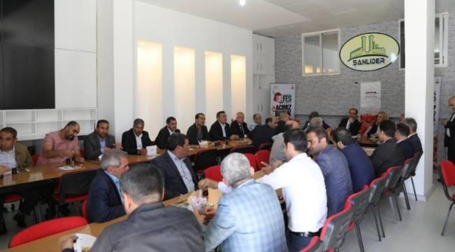 Çiftçi, Antep'te Urfalılarla Bir Araya Geldi-Videolu Haber