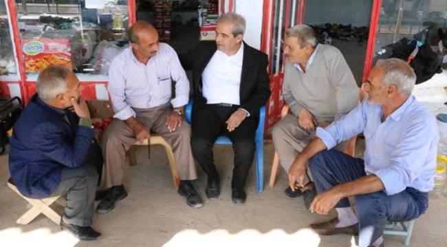 Demirkol, Çamlıdere'de vatandaşlarla bir araya geldi-Videolu Haber