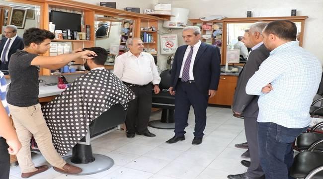 Demirkol, Selahattin Eyyubi'de vatandaşlarla buluştu-Videolu Haber