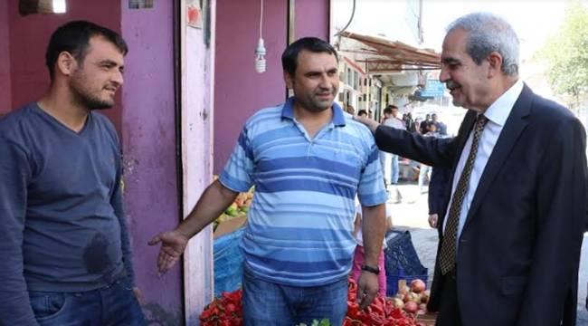 Demirkol, Süleymaniye Mahallesinde Esnafla Buluştu