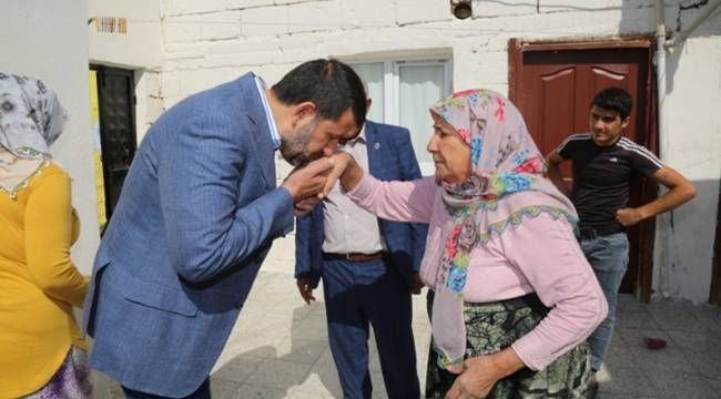 Eyyübiye'de Mağdur ailelerin evleri tadilattan geçirildi-Videolu Haber