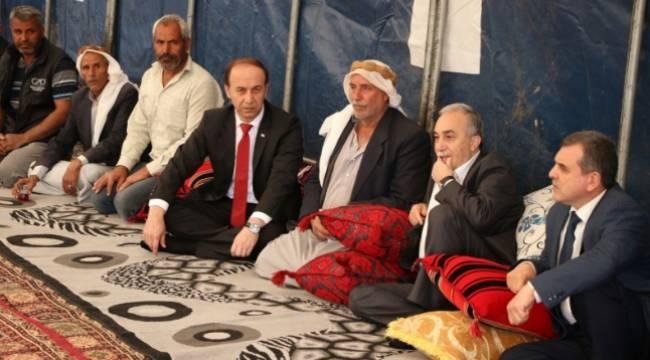 Fakıbaba hayatını kaybeden 3 çocuğun ailesine ziyaret etti