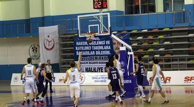 Haliliye Basket 3'te 3 Yaptı-Videolu Haber