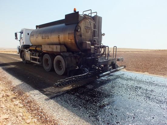 Haliliye'de asfalt seferberliği