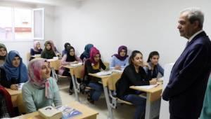 Haliliye'de eğitim merkezleri gece yarısına kadar açık-Videolu Haber
