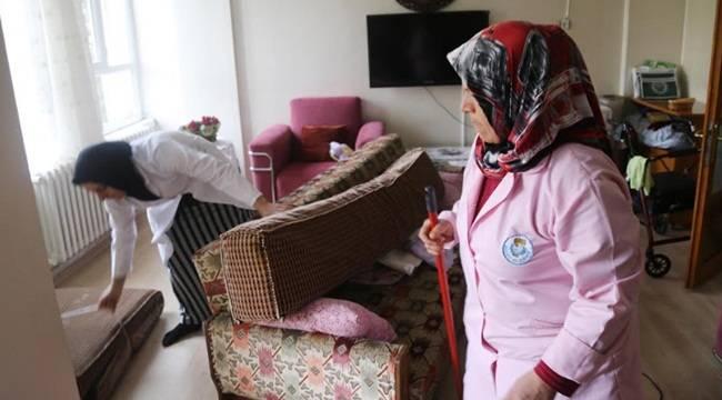Haliliye'de Evde Bakım Hizmeti Yüzleri Güldürüyor-Videolu Haber