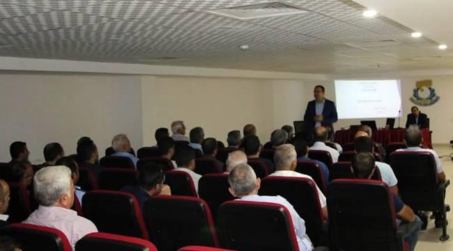 Haliliye'de mevzuat eğitimi verildi-Videolu Haber