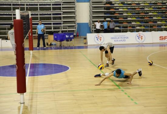Haliliye voleybol takımı, Fındıklı maçına hazırlanıyor