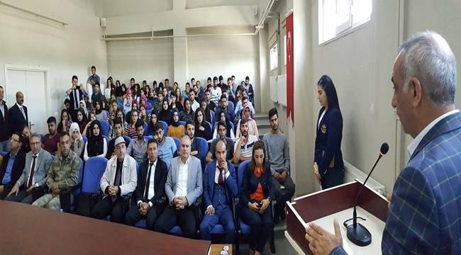 Hilvan Meslek Yüksek Okulunun yeni yıl açılışı yapıldı