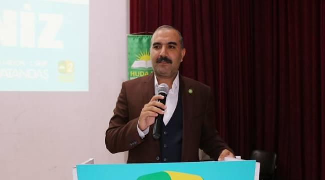 HÜDA PAR Eyyübiye İlçe Teşkilatında görev değişimi