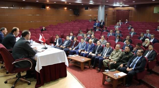 İl İdare Şube Başkanları Toplantısı Yapıldı- Videolu Haber