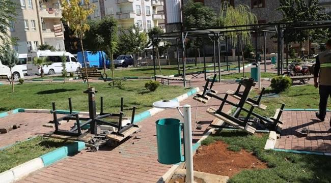İpekyol'daki park yenileniyor-Videolu Haber