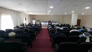 Müftüsü Açık, Akçakale ve Harran İlçeleri'nde Konferans Verdi