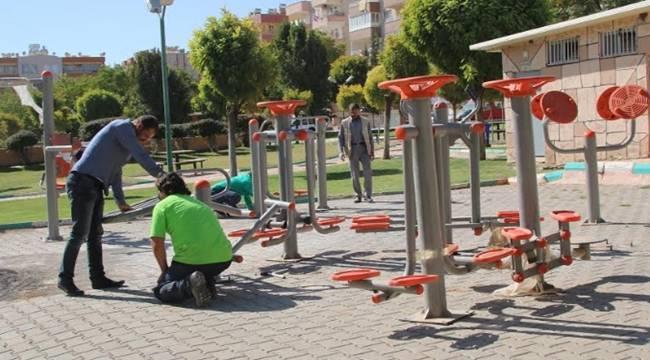 Muhsin Yazıcıoğlu Parkına Yeni Aletler Monte Edildi-Videolu Haber