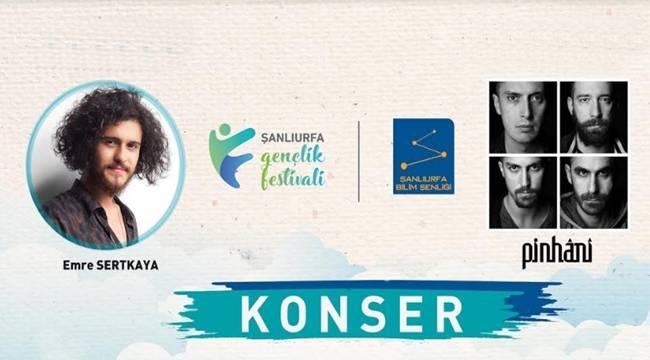 Pinhani ve Emre Sertkaya Şanlıurfa'da Konser Verecek