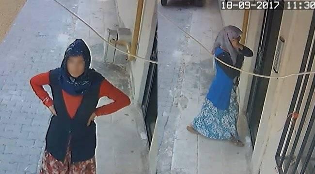 Şanlıurfa'da kadın hırsızlar yakalandı
