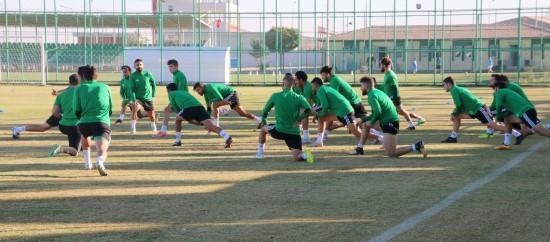 Şanlıurfaspor Silivrispor maçının hazırlıklarına başladı