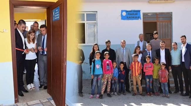 Şehit Polis Ömer Sönmez Okuma Salonu Açıldı