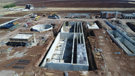 Siverek ilçesi 2018 yılının sonunda kaliteli suya kavuşacak