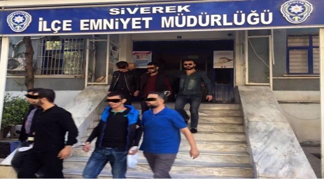 Siverek'te huzur operasyonu, 7 gözaltı