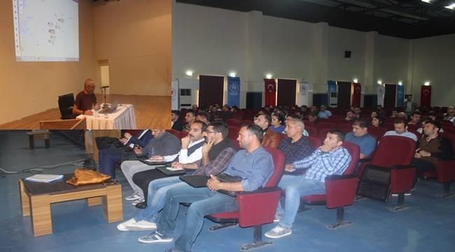 Siverek'te taşımalı eğitim okul idarecilerine seminer verildi