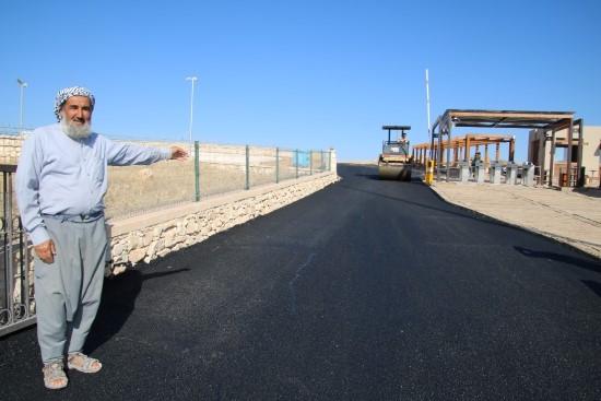 Tarihi Göbeklitepe tesislerinin yolları asfaltlanıyor-Videolu Haber