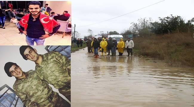 Tekirdağ'da Selde Kaybolan Urfalı Asker Şehit Oldu