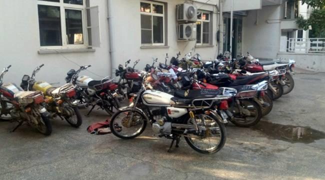 Urfa'da 80 Motosiklet Trafikten Men Edildi
