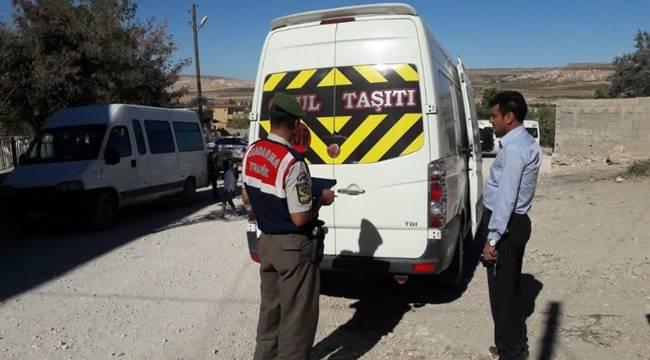 Urfa'da Okul Servisleri Denetlendi
