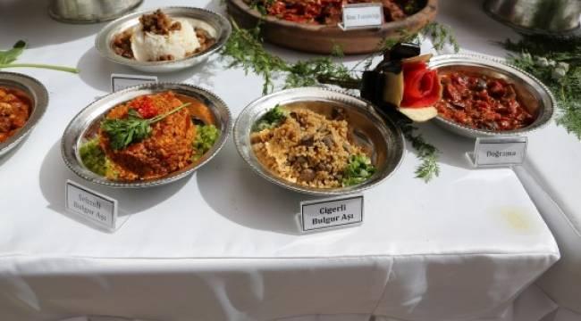 Urfa yöresel yemekleri görücüye çıktı-Videolu Haber