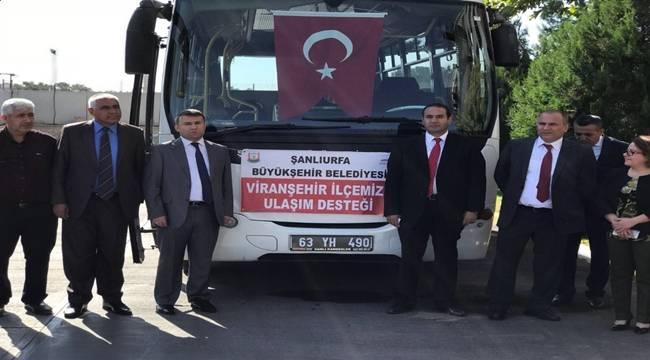 Viranşehir Belediyesine Hediye Edilen Araç Tanıtıldı