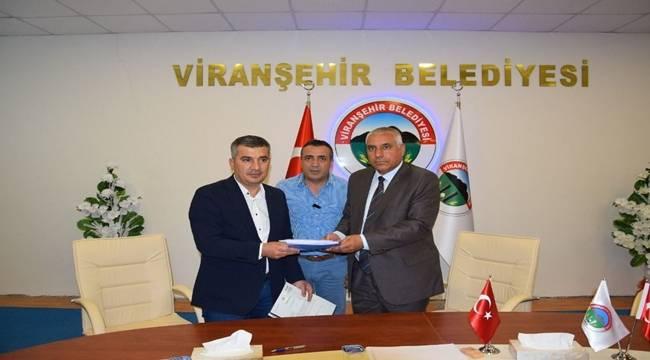 Viranşehir'de Dev Parkın İhalesi Yapıldı
